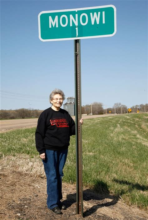 smallest city in us nebraska woman is mayor and only resident of rural town