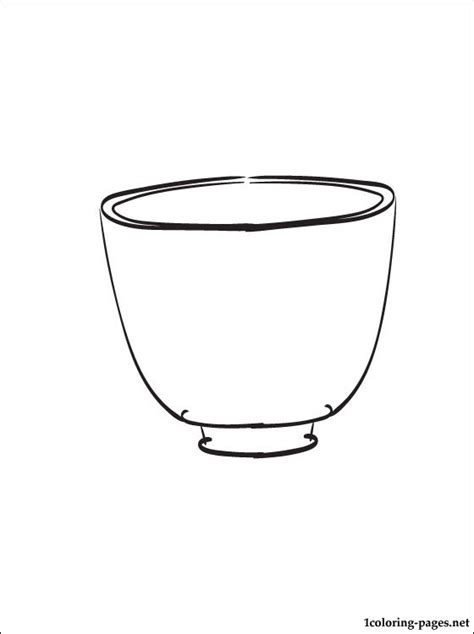 coloring page bowl free coloring pages of bowl
