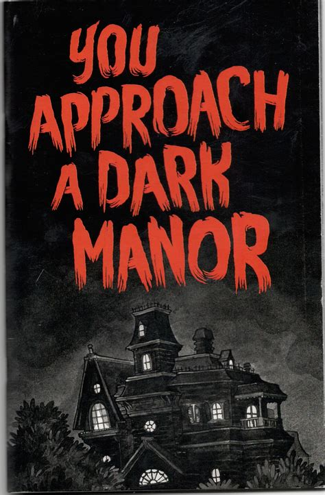 dark manor haunted house 187 zine review you approach a dark manor
