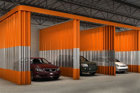 auto body shop curtains industrial curtain walls vinyl wall dividers partitions