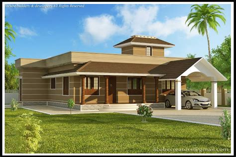 wellsuited simple home design contemporary kerala and floor plans 1400 square feet 3 bedroom single floor kerala style