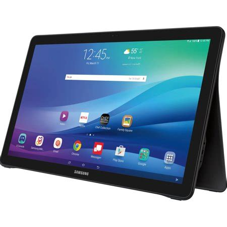 samsung galaxy view  wifi  touchscreen tablet pc featuring android  lollipop