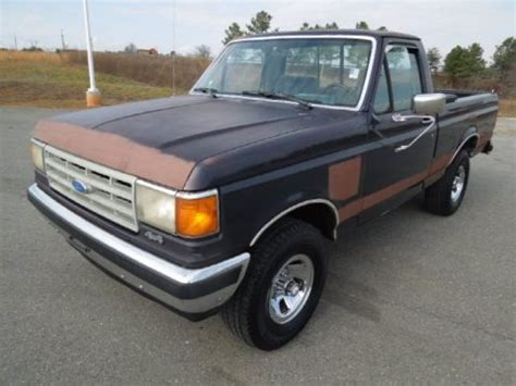1988 ford f150 specs 1988 ford f150 xlt lariat regular cab 4x4 data info and