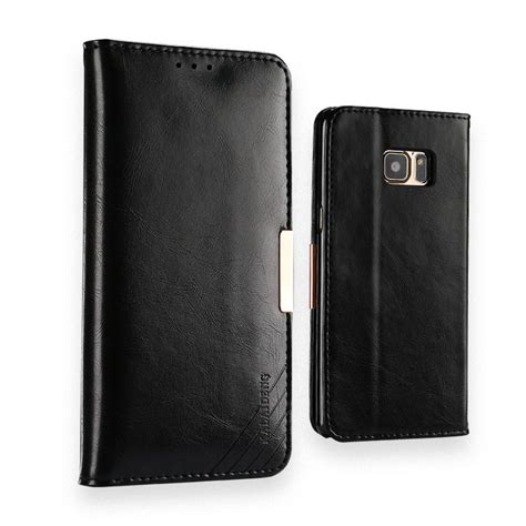 samsung galaxy note 7 leather case kld royale ii black
