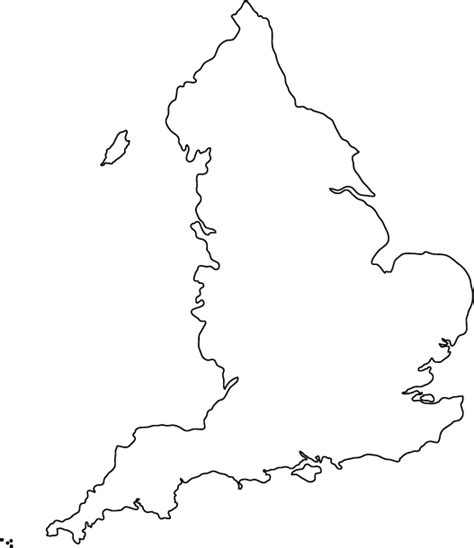 template of uk map outline map