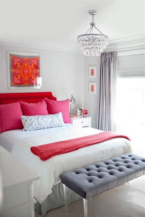 gray and pink bedroom red pink and gray bedroom bedrooms bedrooms pinterest