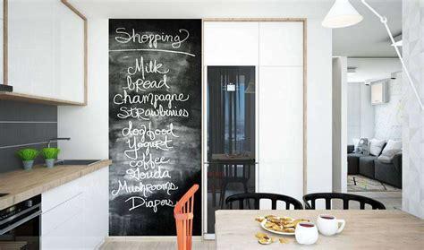 parete lavagna arredamento decorare una parete con la pittura effetto lavagna 20