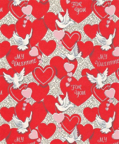 valentines wrapping paper 1000 images about vintage wrapping paper on