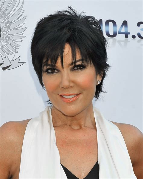 back of chris jenner s hair kris jenner hairstyle back view short hairstyle 2013