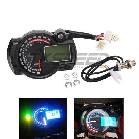 Rpm Meter Digital Tachometer I Max Brt Original 1 wholesale 15000rpm modern motorcycle digital light lcd digital speedometer tachometer