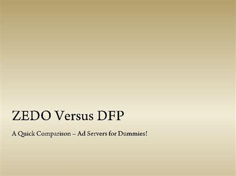 adsense vs dfp zedo vs dfp a quick guide about ad servers