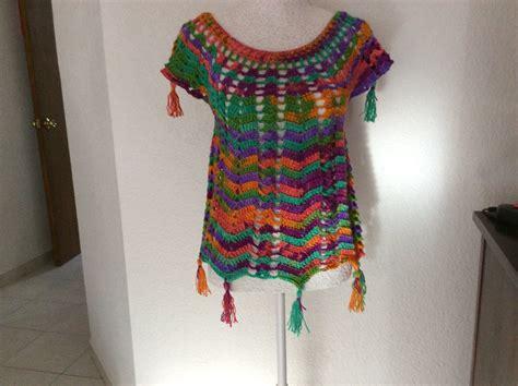 blusas tejidas de laura cepeda blusa ana tejida en gancho f 225 cil y r 225 pida tejiendo con