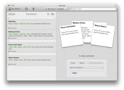 how to create a template in evernote create evernote 5 template notebooks with applescript