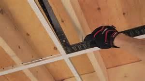 rona comment poser un plafond suspendu
