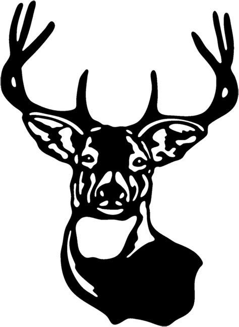 deer head deer head sticker clipart best clipart best
