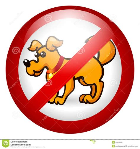 no puppies no dogs allowed stock photography image 24803342