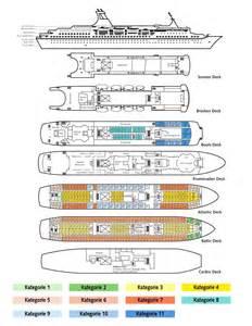 mv astor deck plan kreuzfahrtschiffe die quot ms astor quot