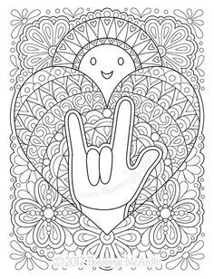 sign language i love you coloring pages i love you sign language clip art love you sign language