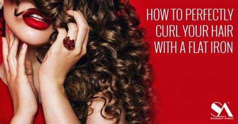 hairstyles that dont need a hot iron how to perfectly curl your hair with a flat iron