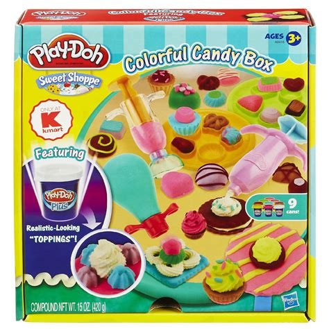 Play Doh Colorful Cookies Sweet Shoppe play doh sweet shoppe colorful box set kmart exclusive toys arts crafts