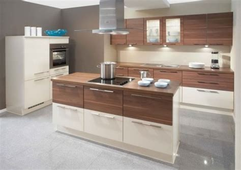 kitchen designs from warendorf walnut compact kitchen design 17 dise 241 os de cocinas minimalistas modernas