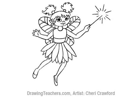 how to draw a fairy silhouette step by step fairies how to draw a fairy