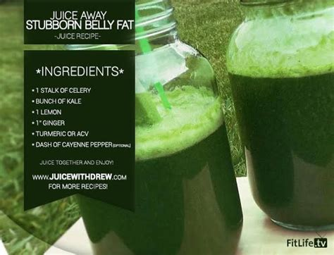 Stomach Detox Smoothie by Challenge Accepted Belly Juice That Sounded Gross