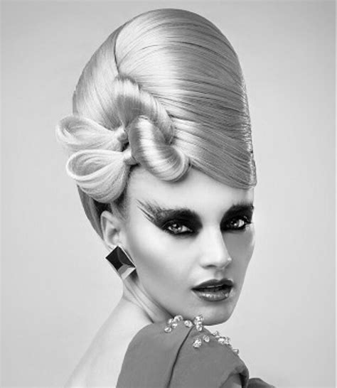 history of avant garde hairstyles modern beehive hair inspiration pinterest