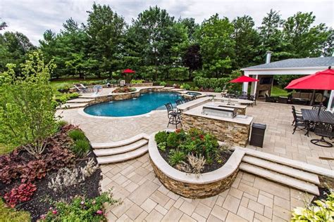 curb appeal design nj landscaping masonry contractors and deck builders