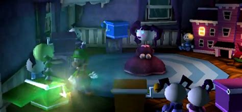 Dining Room Luigi S Mansion Moon Luigi S Mansion Moon And Horror Six Creepy Things In