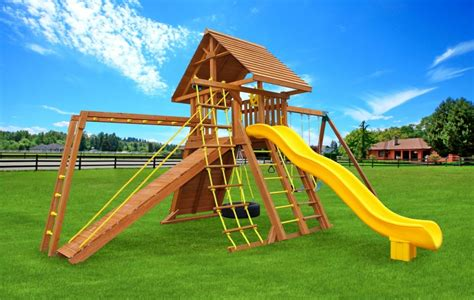 best backyard swing sets angled base extreme best swing sets eastern jungle gym