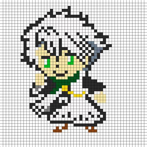 new perler bead patterns toshiro hitsugaya new look chibi perler bead pattern