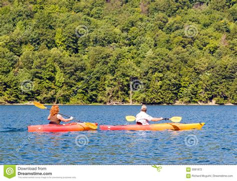 Garden State Kayakers Kayakers Stock Photography Image 3081872