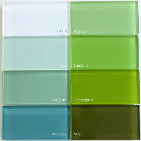 subway tile colors green glass tile modwalls fresh tile in colors you crave
