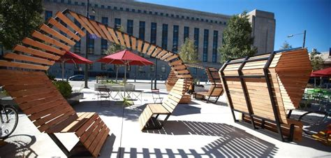 Sitting Benches by Planphilly University City Living Lab For Public
