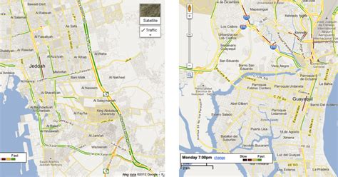 live road map maps three new cities with live road traffic