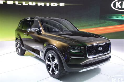 Kia Suv 2020 by 2020 Kia Telluride Everything We About The Size