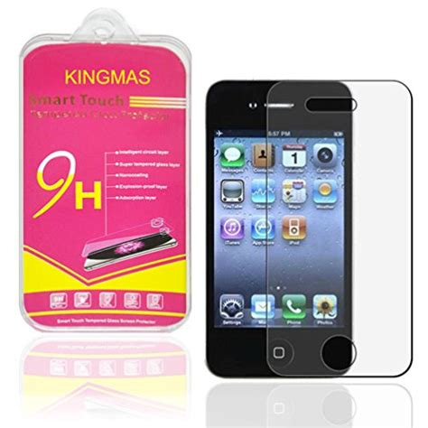 Tempered Glass 3d Gold Iphone 4 4g 4s 5 5g 5s galaxy s5 screen protector tech armor high definition hd