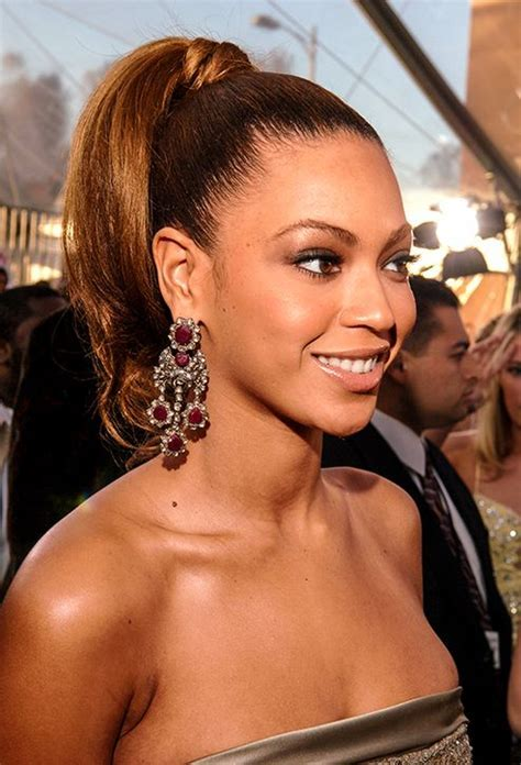 Your Hair Inspiration: Beyonce   Arabia Weddings