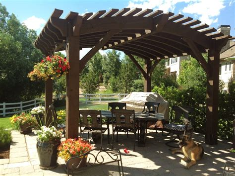 Backyard Creations Arched Pergola Roof Designs For Outdoor Living Timber Frame Shade