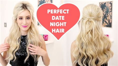 Hairstyles For Dates by The Ultimate Date Hairstyle With Hair Extensions