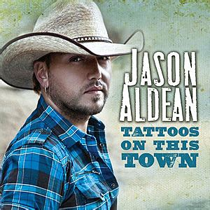 jason aldean tattoos on this town song review