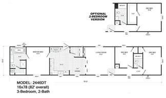 Single Wide Mobile Homes Floor Plans And Pictures by Single Wide Floorplans Mccants Mobile Homes