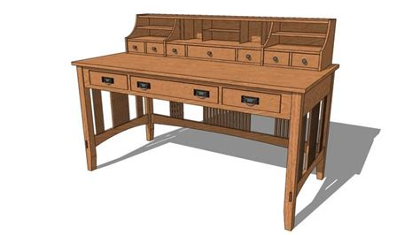 mission style writing desk mission style writing desk plans mission furniture plans