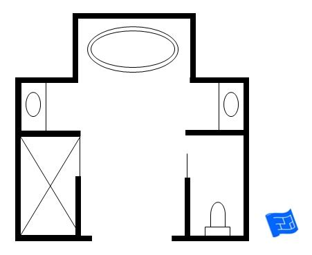 size of master bathroom master bathroom floor plans