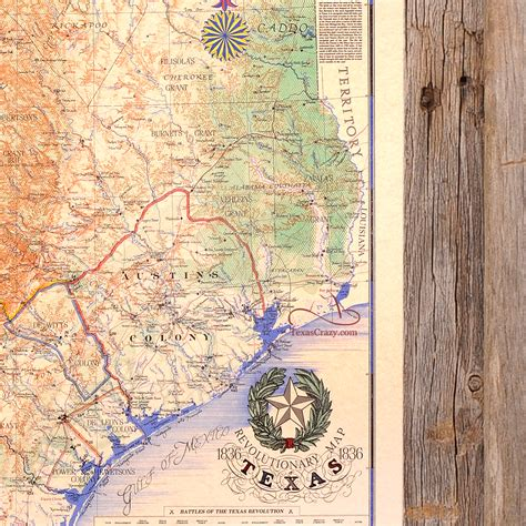 texas 1836 map buy texas revolution map 1836 large framed republic of texas