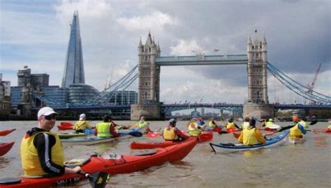 river thames kayak licence the thames kayakathon london 2014 west end on the thames