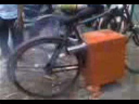 Mesin Steam sepeda onthel mesin uap steam bike indonesia