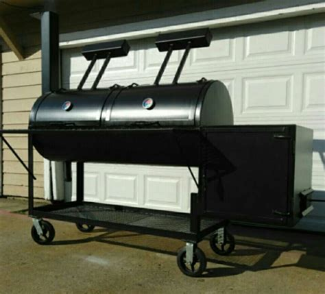 custom pit grills quot pits by hugo 174 quot custom made smoker bbq pit grills asador