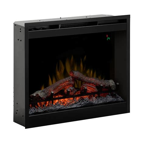 dimplex 26 in in electric fireplace insert df2624l